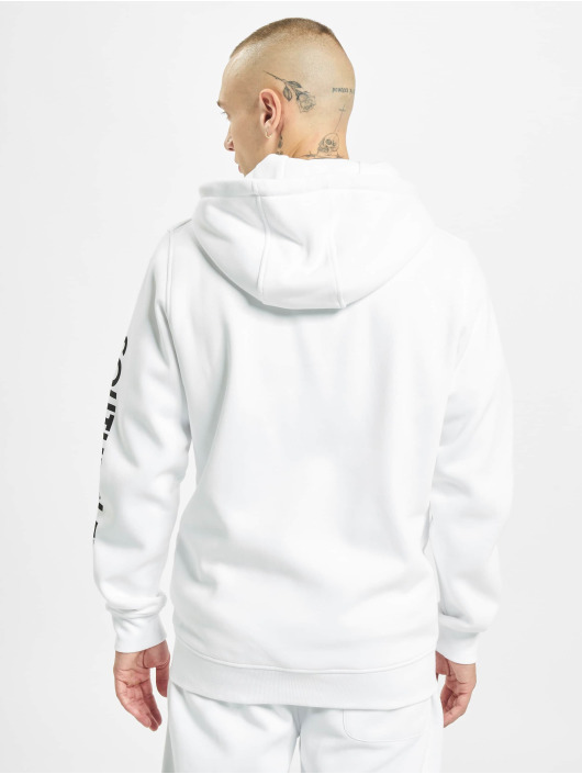 Southpole Zip Hoodie Nasa Insignia Logo hvit