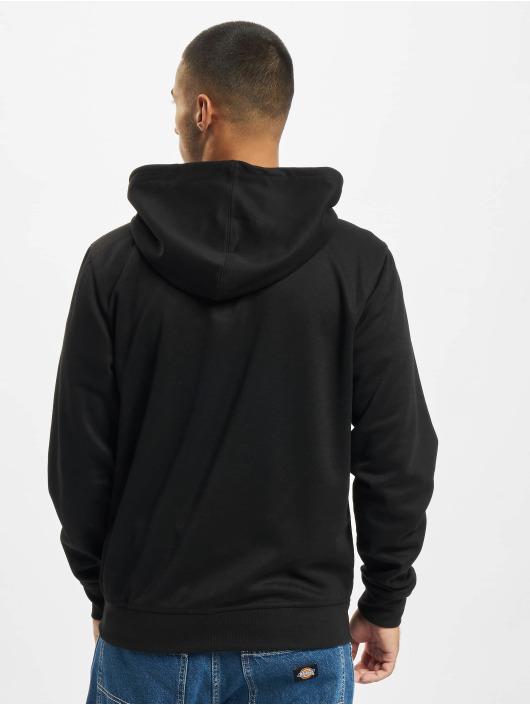 Southpole Zip Hoodie Taped Tech Fleece Full schwarz
