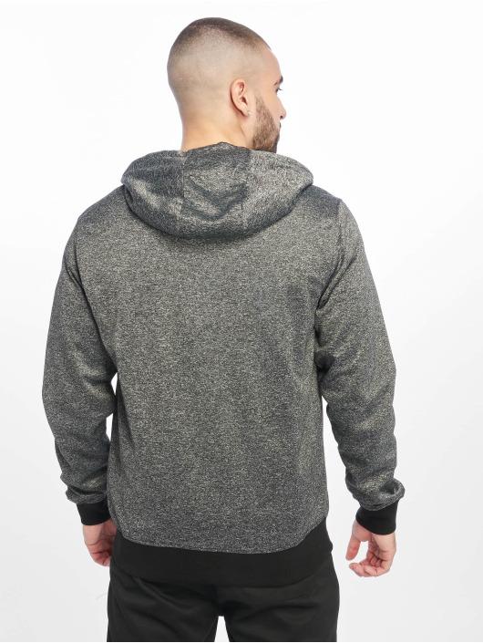 Southpole Zip Hoodie Tech Fleece svart