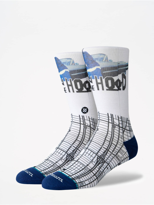 Stance Calcetines Anthem South Central blanco