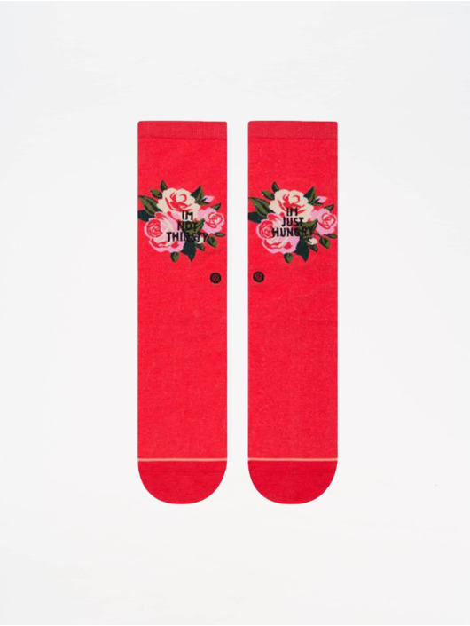 Stance Calcetines Foundation Not Thirsty rojo