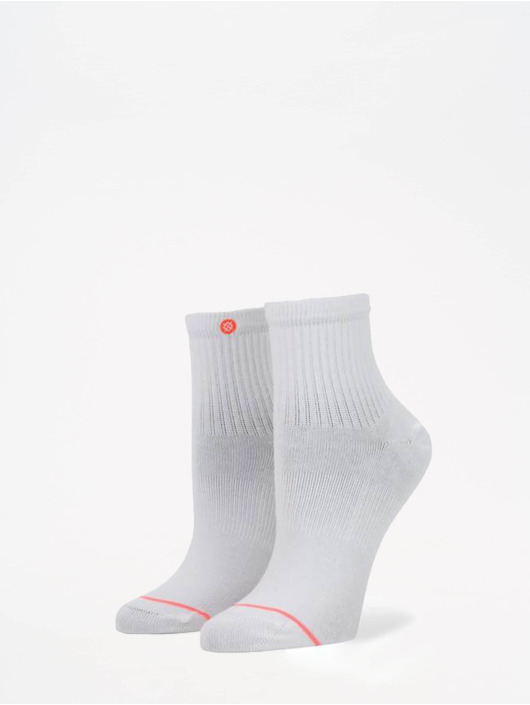 Stance Chaussettes Uncommon Solids Classic Lowrider blanc