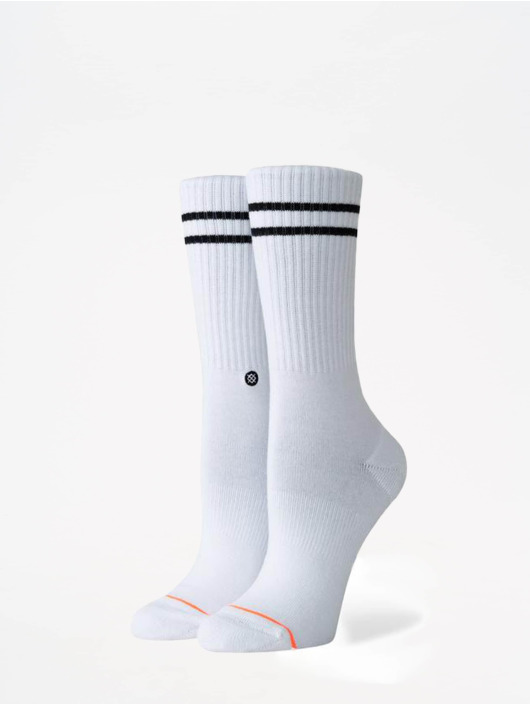 Stance Chaussettes Uncommon Solids Vitality blanc