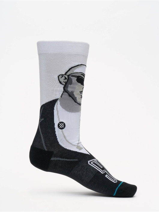 Stance Chaussettes Premier And Guru blanc