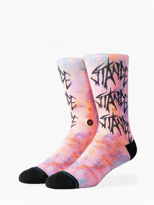 Stance Chaussettes Washed Up magenta