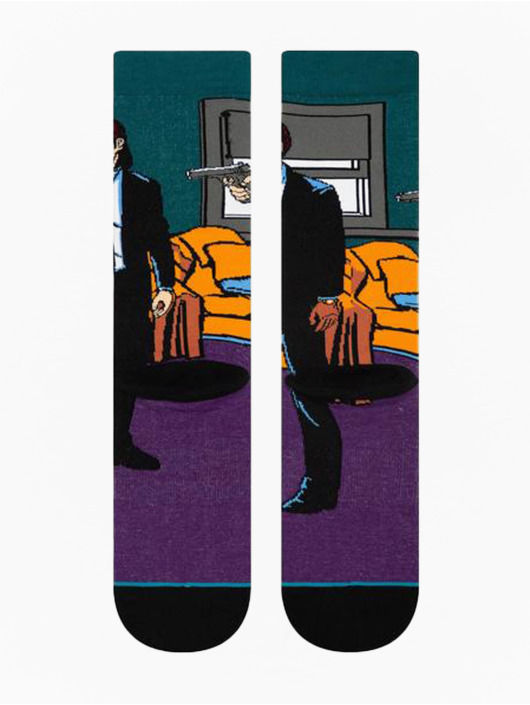 Stance Chaussettes Vincent And Jules pourpre