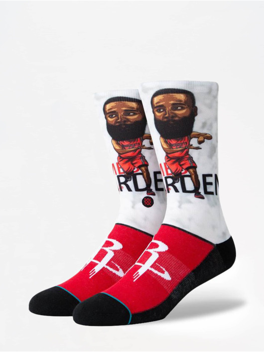 Stance Chaussettes NBA Legends Harden Big Head rouge