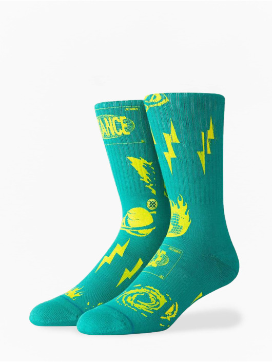 Stance Chaussettes Meteorite turquoise