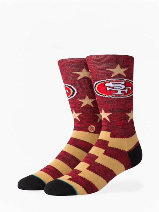 Stance Ponožky 49ers Banner èervená