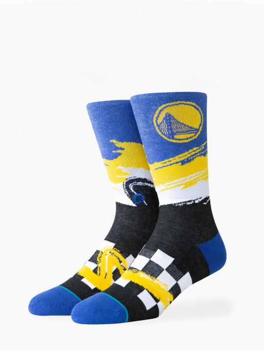 Stance Ponožky Warriors Wave Racer èierna