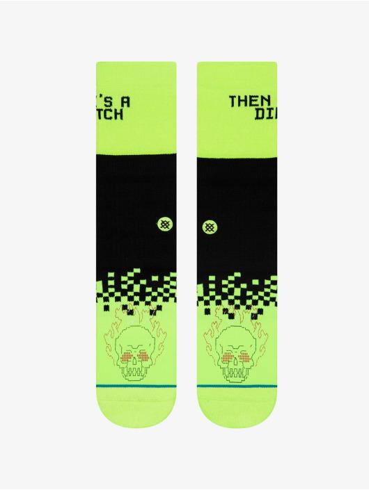Stance Ponožky Lifes A Glitch žltá