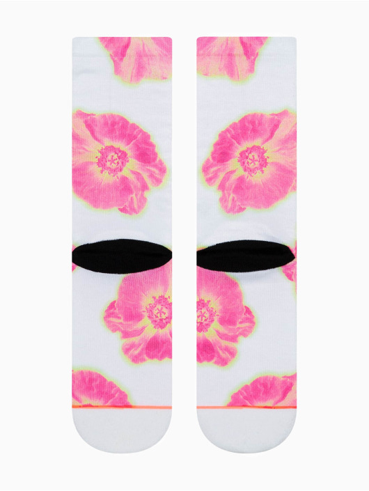Stance Ponožky Thermo Floral Crew biela