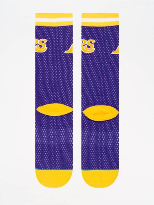 Stance Ponožky NBA On Court Collection Lakers 94 HWC fialová