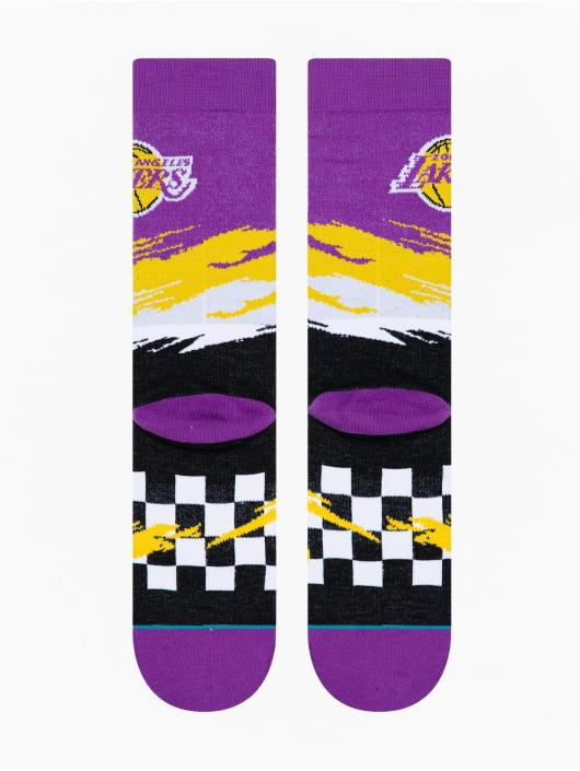 Stance Ponožky Lakers Wave Racer fialová