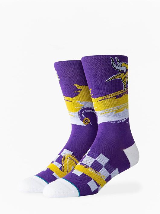 Stance Ponožky Vikings Wave Racer fialová