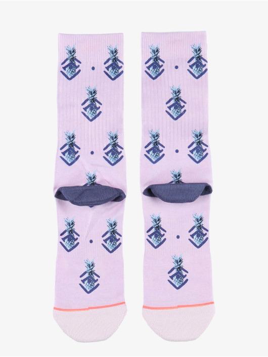 Stance Ponožky Polka Pineapple fialová