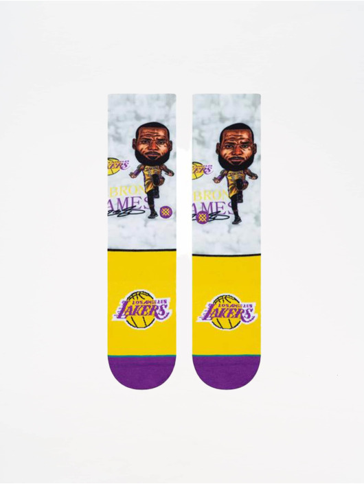 Stance Skarpetki NBA Legends Lebron Big Head kolorowy