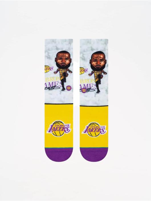 Stance Socken NBA Legends Lebron Big Head bunt