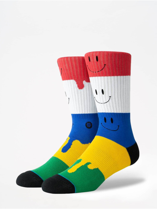 Stance Socken Foundation Face Melter bunt