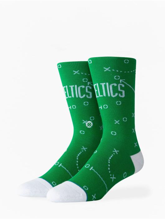 Stance Socken Celtics Playbook grün