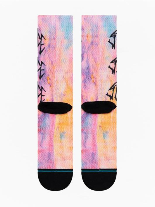 Stance Socken Washed Up pink