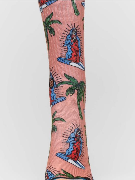 Stance Socken Surfin Guadalupe rosa