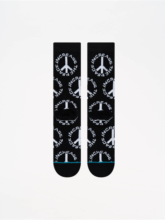Stance Socken Anthem Increase The Peace schwarz