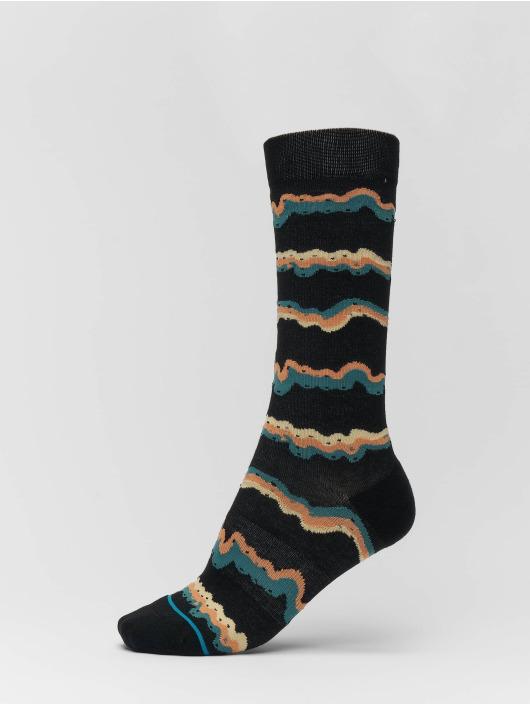 Stance Socken Melting schwarz