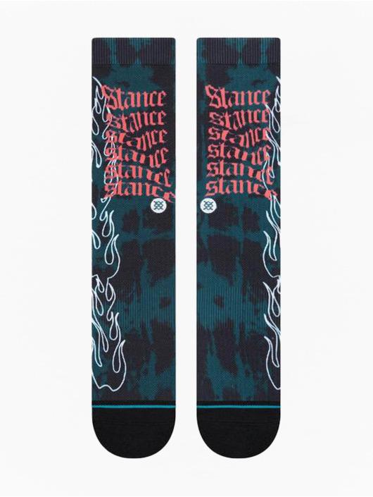 Stance Socken Flame schwarz