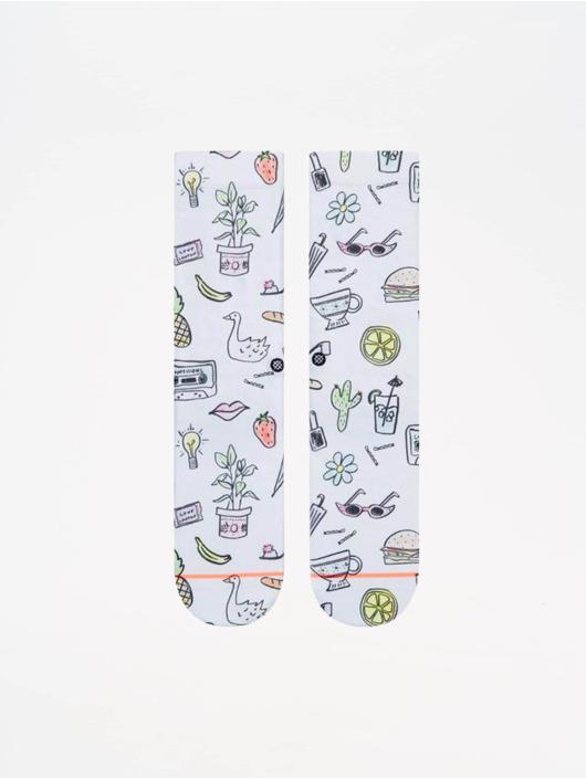 Stance Socken Foundation Shopping List weiß