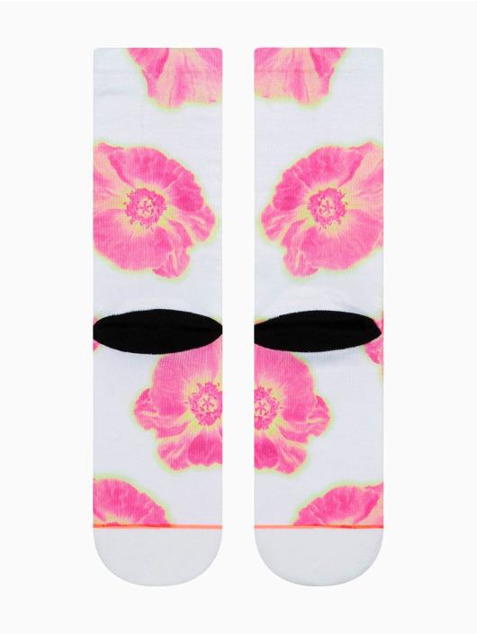 Stance Socken Thermo Floral Crew weiß