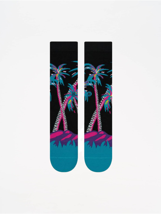 Stance Socks Lifestyle Coco Palms black