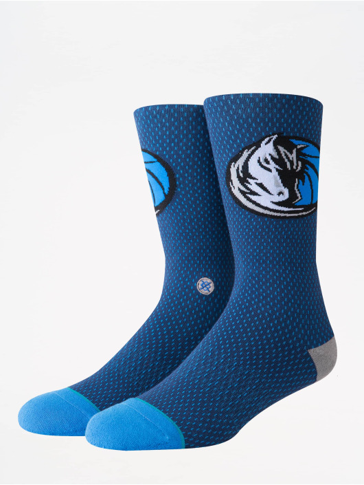 Stance Socks NBA On Court Collection Mavs Jersey blue