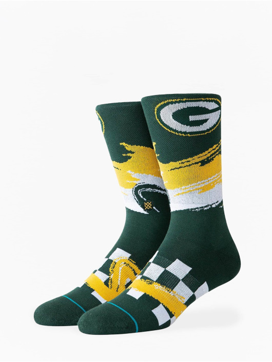 Stance Socks Packers Wave Racer green