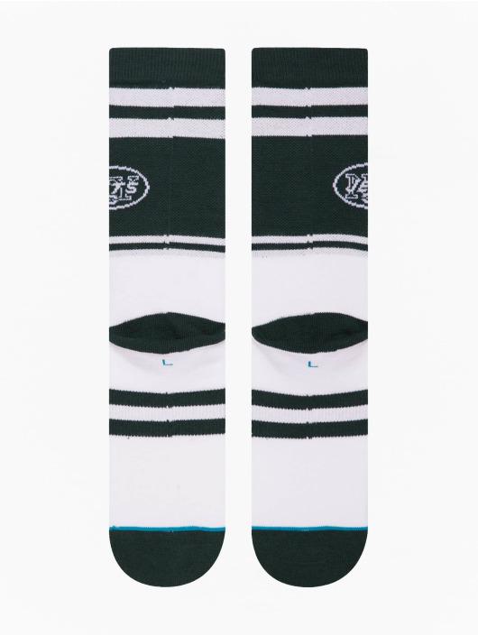 Stance Socks Jets Logo green