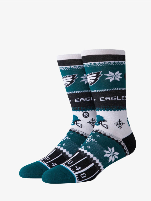 Stance Socks Eagles Holiday Sweater green