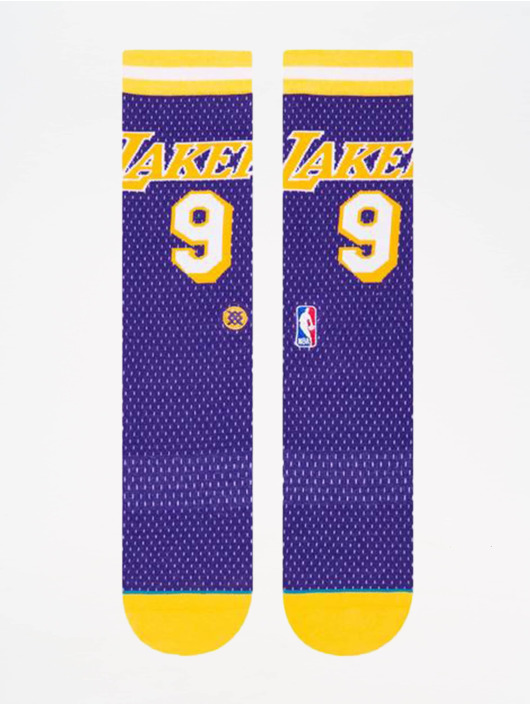 Stance Socks NBA On Court Collection Lakers 94 HWC purple