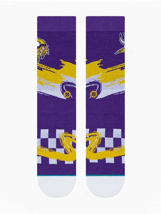 Stance Socks Vikings Wave Racer purple