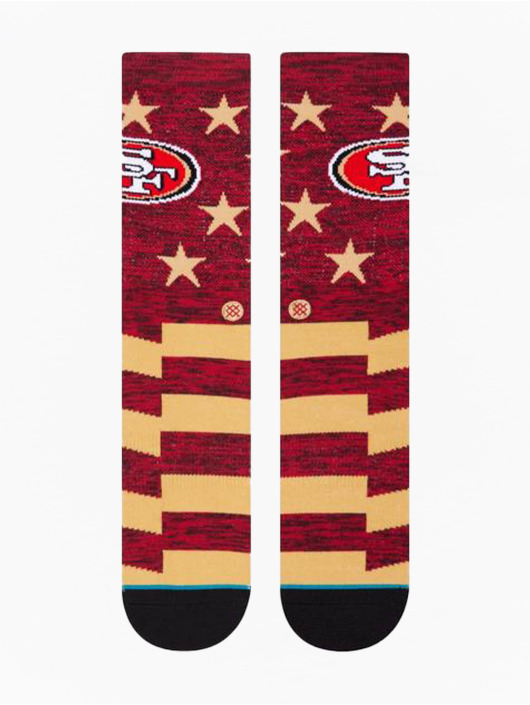 Stance Socks 49ers Banner red