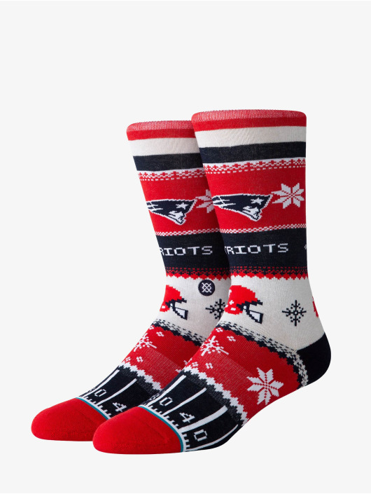 Stance Socks Patriots Holiday Sweater red