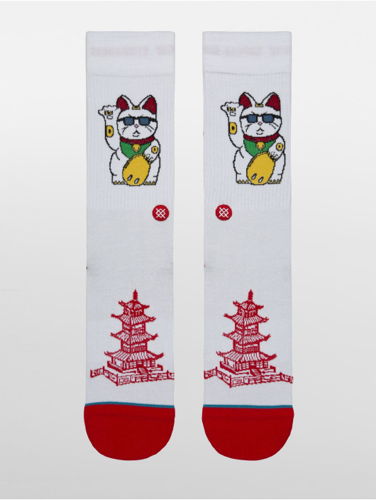 Stance Socks Thank You Enjoy white