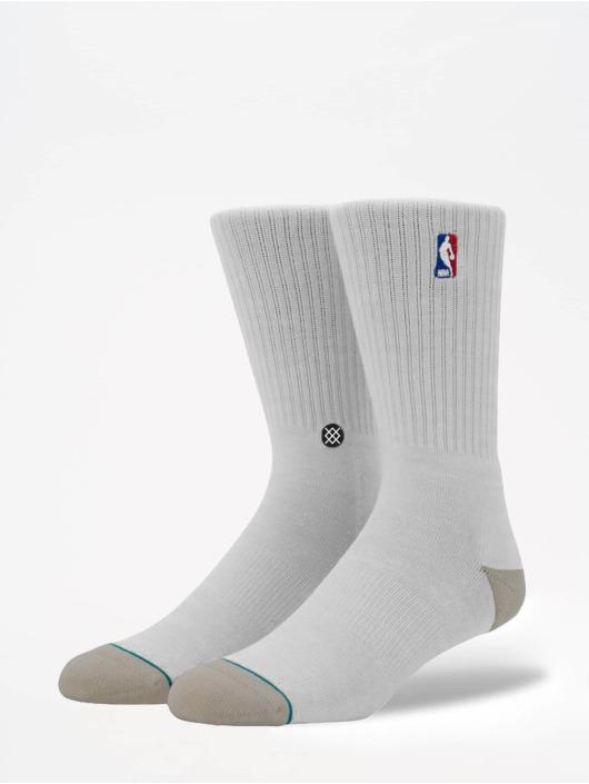 Stance Socks On Court Collection Logoman Crew white
