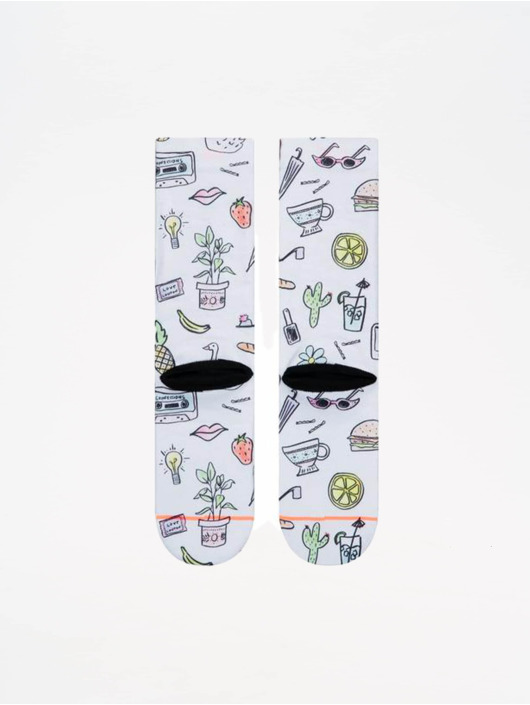 Stance Socks Foundation Shopping List white