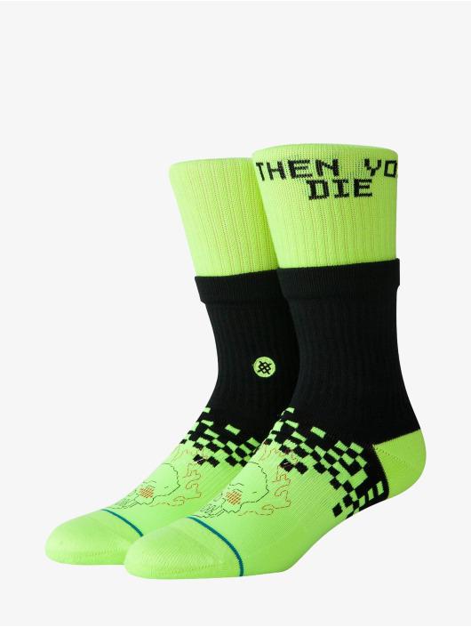 Stance Socks Lifes A Glitch yellow