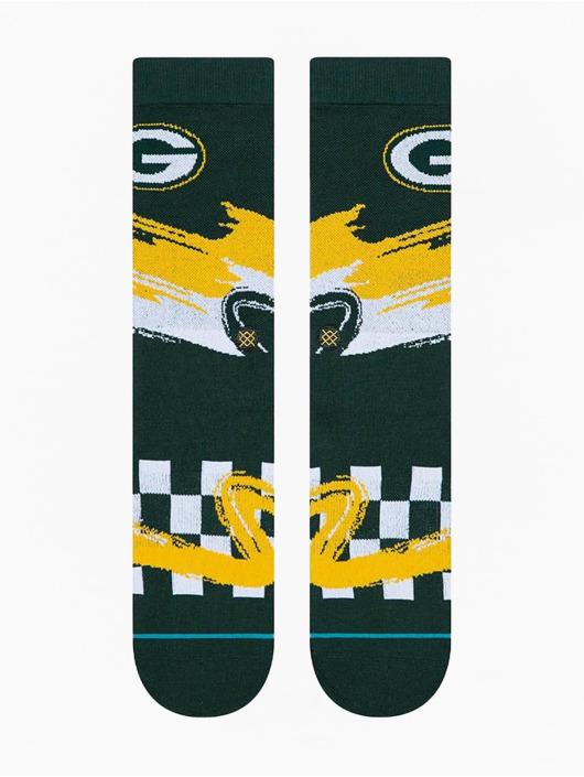 Stance Sokken Packers Wave Racer groen