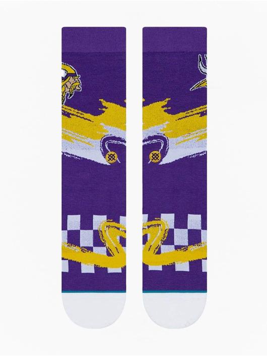 Stance Sokken Vikings Wave Racer paars