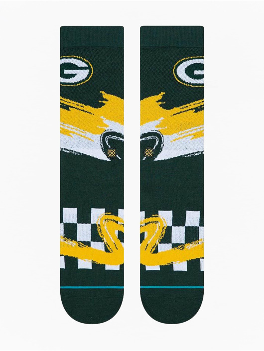 Stance Sokker Packers Wave Racer grøn