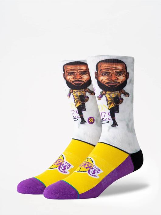 Stance Sokker NBA Legends Lebron Big Head mangefarget
