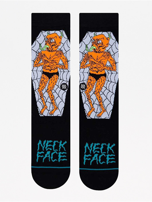 Stance Strømper Neckface Coffin sort