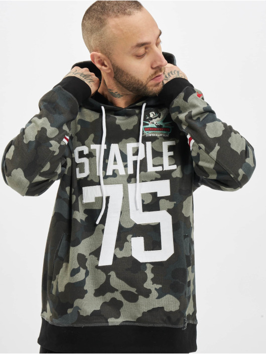Staple Pigeon Hoodie Urban Wear camouflage